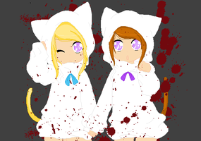 Lucy And Alice Remake by EmilyBlueStar