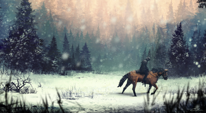 Snowyforest2 by Aeflus