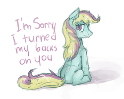 Sorry by Reporter-Derpy