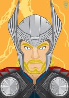 The Avengers - Thor by GHussain