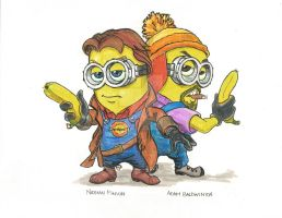 Firefly Minions by WillmRFrank