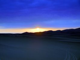 Blue desert by Juliemarie91