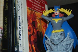 Batgirl with Books by lancheney