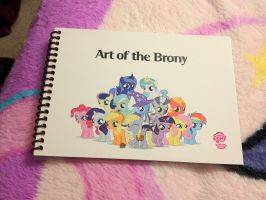 Art of the Brony Book by HurricaneChiela