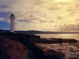 Wollongong Lighthouse Sunrise by W00den-Sp00n