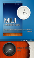 MIUI Analog Clock by KreDoc