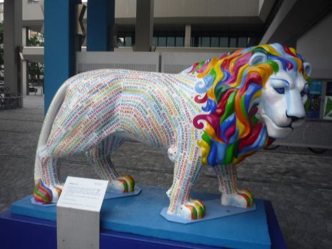 A Lion of a Different Color by Isis-Moon