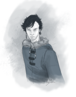 Sherlock, the Beaufort Sea pirate by Beginte