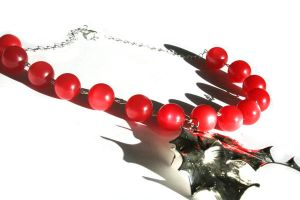 Holly Berries by faerykisses