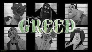 Disney's Deadly Sins: Greed by trentsxwife