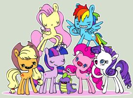 My Little Pony FiM freestyle 2 by analage