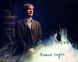 Remus Lupin Wallpaper by ColourCodedRed