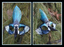 Two For Joy - Magpie Mask by SageKorppi