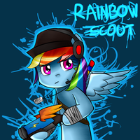 Rainbow Scout by KexonNRubylar
