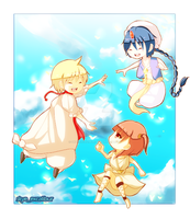 Magi Trio by SkyeExcalibur
