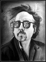 Tim Burton Tribute by artbyjoewinkler