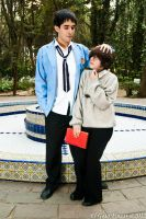 Mori and Haruhi by maskplayers-group-mx