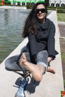 Between Her Toes 6 by Footografo