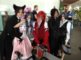 Black Butler Group Shoot by DigiDrawer