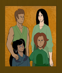 The Huoshan family portrait by TheTale-Of-Rabiah