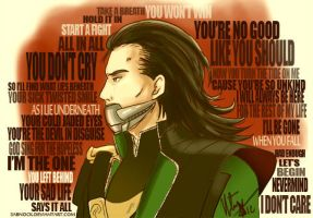 What Lies Beneath - Loki by Sabnock