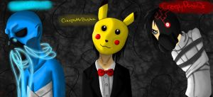 Creepypasta Readers- MCP, CMP, CPJr. by anonymouswind