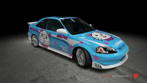 Honda Civic Si Coupe - Need For Speed: Underground by OutcastOne
