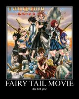7000 Pageviews Thank You:  Fairy Tail Movie by Onikage108
