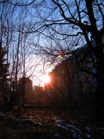 The Sunset Above My Home by Aivaseda