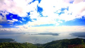 Taal Volcano Christmas Day by aerosmith9110