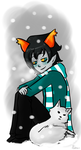 _CE:It'sCold,Salire!_ by RobicTheEscapist