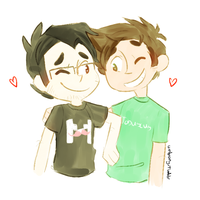 toby and mark by unifiedheroes