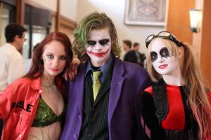 Ivy, Joker, and Harley by RegularFrankyFan