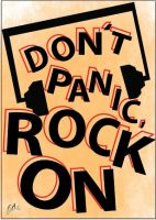 Dont Panic, Rock On by FISHYANTICS