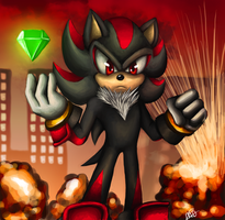 Shadow the Hedgehog by martiigr5