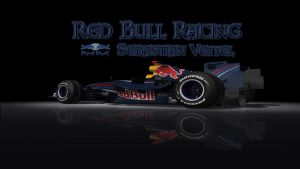 F1 RedBull Sebastian Vettel by Holly69