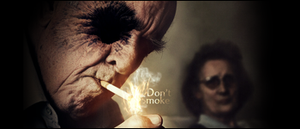 Don't Smoke Present to krm by LuminorDesigns