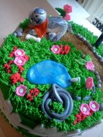 gardening cake by greeneyes3675