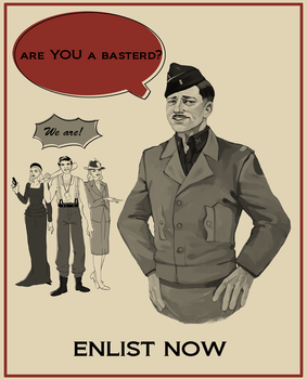 Inglourious Basterds by TeaAnemone