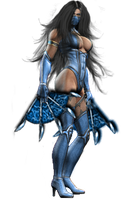 Mileena Render Edit: Kitana by Jfr12391