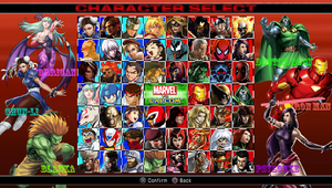 Marvel vs Capcom (My Roster) by DENDEROTTO
