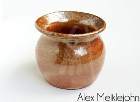 1:12 Hand Thrown Large Wood Fired Planter by AlexMeiklejohn