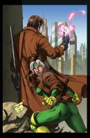 Rogue and Gambit - Jose Luis by ChrisShields