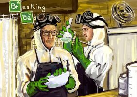 breaking bad wip3 by krio0ut