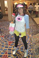 Dragon*Con 2012: Pokemon Black/White2 Trainer Girl by DaisyPhantom