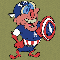 Captain American Liquor by Lotusbandicoot