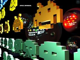 Space_Invaders_by_Mortel3 by 3dAC