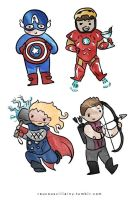 The Avengers 2 by LilClownie