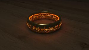 The One Ring by polygonbronson