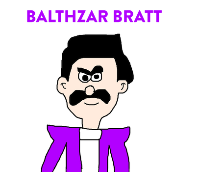 Balthazar Bratt from Despicable Me 3 by MikeEddyAdmirer89